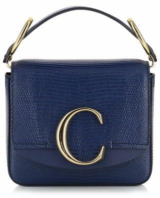 Tasche aus Leder mit Eidechsenprint Mini Chloé C CHLOE