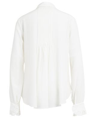 Ruffled silk shirt SLY 010