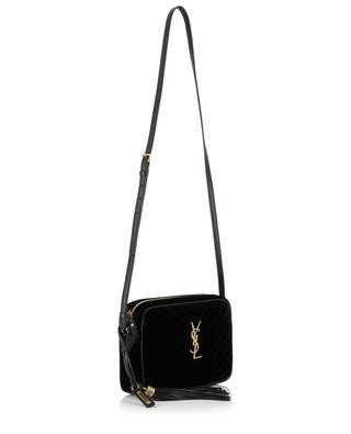 Lou Medium quilted velvet camera bag SAINT LAURENT PARIS