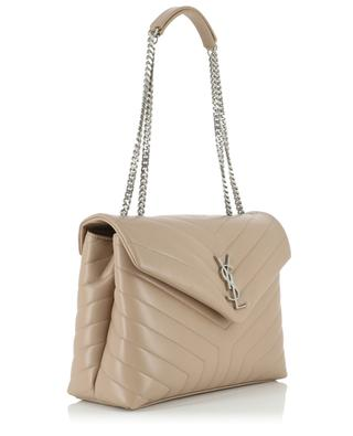 Schultertasche aus Leder mit Y-Steppmuster Loulou Medium SAINT LAURENT PARIS