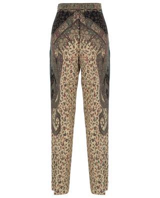 Paisley pattern breezy silk wide-leg trouser ETRO