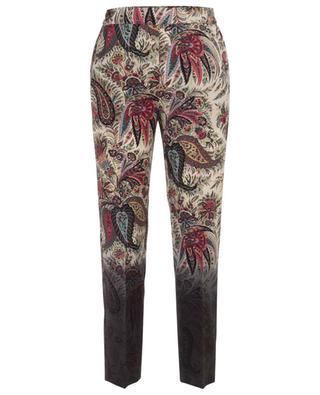 Printed wool trousers ETRO