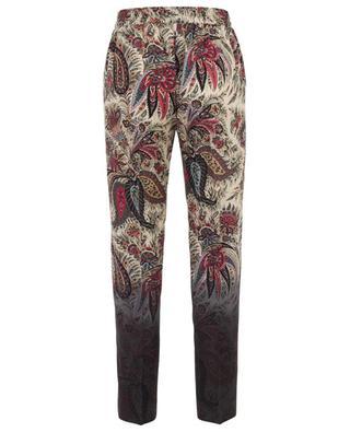 Pantalon imprimé en laine ETRO