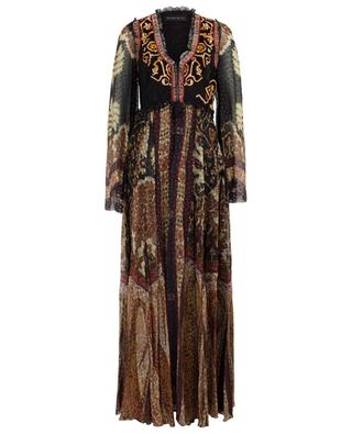 Long jacquard dress with embroideries ETRO