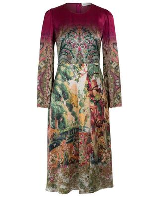 Geblümtes Midi-Kleid aus Viskose ETRO