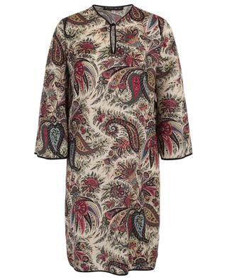 Robe tunique en laine imprimée paisley ETRO