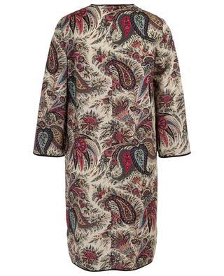 Wool tunic dress with paisley print ETRO