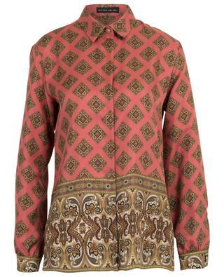 Twillhemd mit Schal- und Paisleyprint ETRO