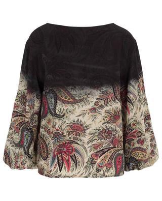 Lange Bluse mit Print ETRO