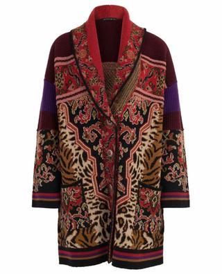 Cardigan long en laine mélangée ETRO