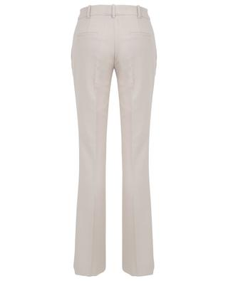 Lightly flared slim fit twill trousers SLY 010