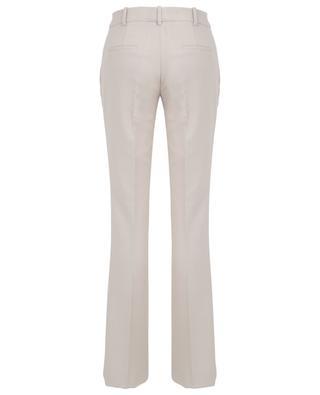 Pantalon slim légèrement évasé en sergé SLY 010