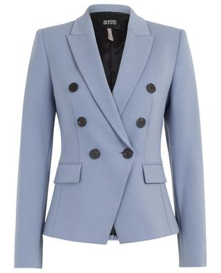 Double-breasted jersey blazer SLY 010