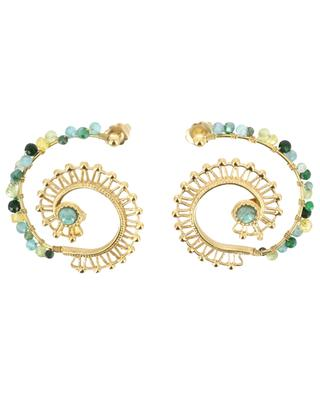Calliope gold-plated earrings GAS BIJOUX