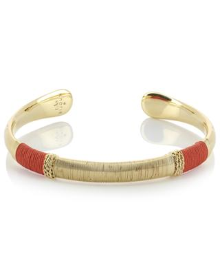 Macao gold-plated bangle GAS BIJOUX