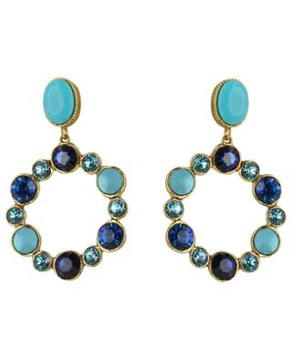 Earrings with crystals POGGI