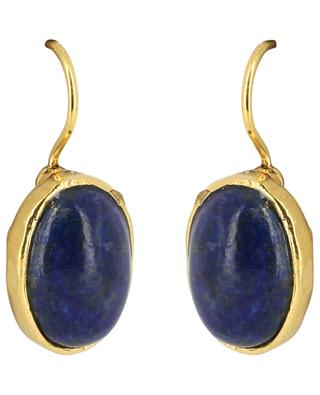 STON 3 earrings with oval cabochon POGGI