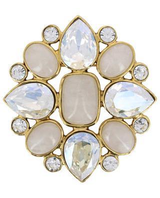 Broche sertie de cristaux STON300 POGGI