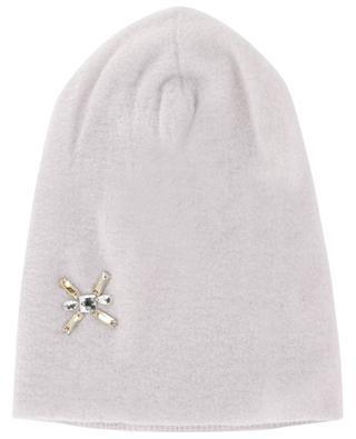 Mütze aus Wollmix mit Kristallen INVERNI FIRENZE