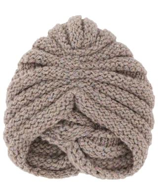 Gathered cashmere blend beanie INVERNI FIRENZE