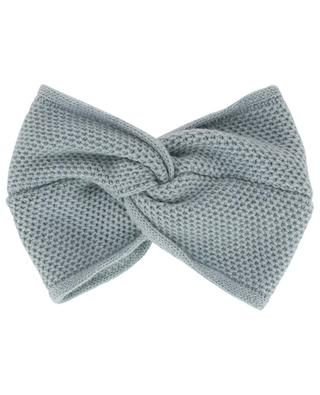 Honeycomb textured headband with bow INVERNI FIRENZE