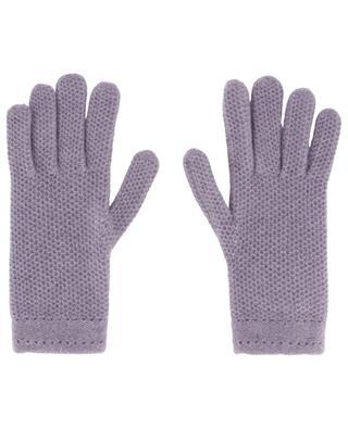 Handschuhe aus Kaschmir mit Wabenstruktur INVERNI FIRENZE