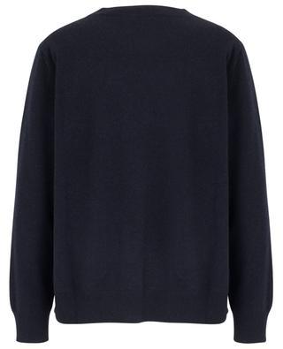 Lässiger bestickter Pullover mit zwei Taschen FABIANA FILIPPI