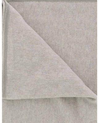 Schal aus Wolle, Seide und Kaschmir mit Perlenbordüre FABIANA FILIPPI