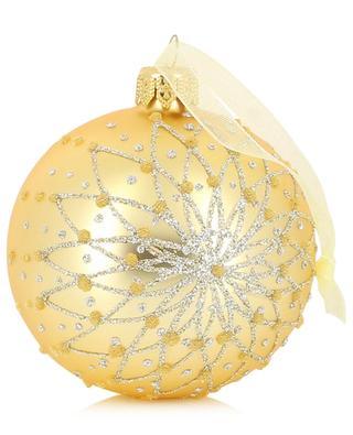 Boule de Noël motif mandala KAEMINGK