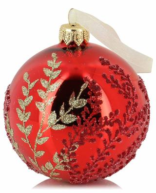 Foliage adorned Christmas bauble KAEMINGK