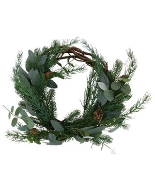 Wreath in synthetic branches KAEMINGK
