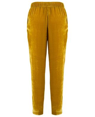 Tapered velvet trousers FABIANA FILIPPI