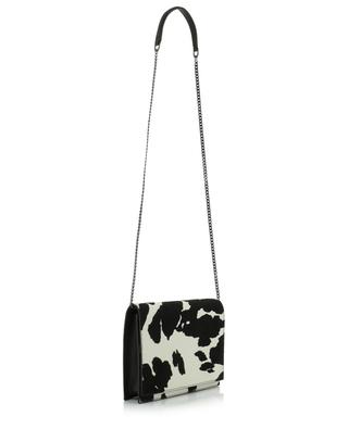 Cecilia pony hair leather shoulder bag FABIANA FILIPPI
