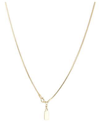 Goldene lange Halskette mit Türkis Eagle RUEBELLE MAUI PARIS