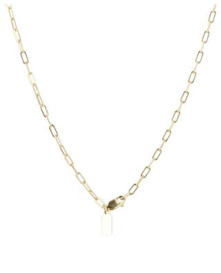 Large freshwater pearl embellished necklace RUEBELLE MAUI PARIS