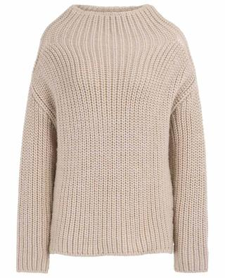 Chunky knit jumper with mock neck SLY 010
