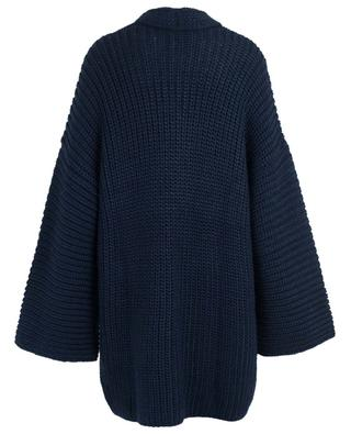 Oversized wool blend cardigan SLY 010