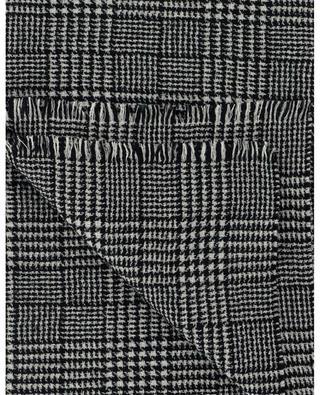 Schal aus Wollmix mit Hahnentrittmuster SAINT LAURENT PARIS