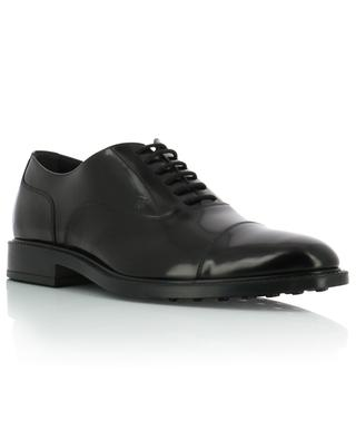 Patent leather lace-up shoes TOD'S