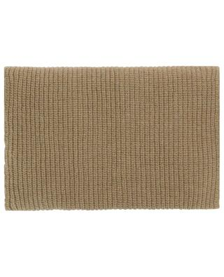Colalo knit and twill snood PIERRE LOUIS MASCIA