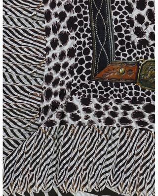 Fancy silk twill scarf PIERRE LOUIS MASCIA