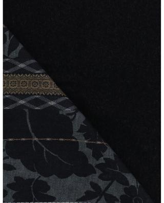 Pancake thick printed scarf PIERRE LOUIS MASCIA