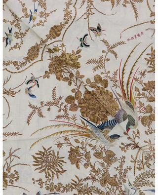 Aloeuw silk square with tapestry print PIERRE LOUIS MASCIA