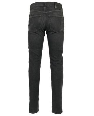 Leonardo T Black Confort grey slim fit jeans TRAMAROSSA