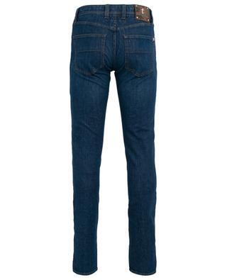 Slim-Fit-Jeans mit Camouflage-Details Leonardo TRAMAROSSA