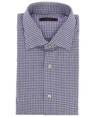 Metis textured checked shirt THE GIGI