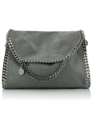 Falabella Large faux suede shoulder bag STELLA MCCARTNEY