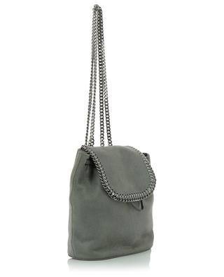Falabella Shaggy Deer Mini faux suede backpack STELLA MCCARTNEY