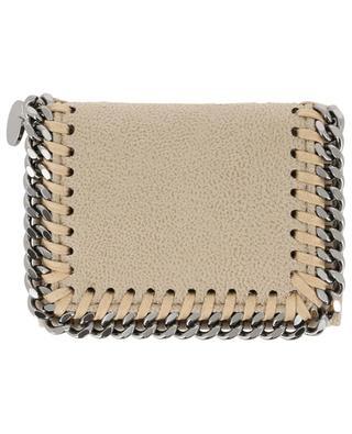 Falabella Shaggy Deer compact faux suede wallet STELLA MCCARTNEY