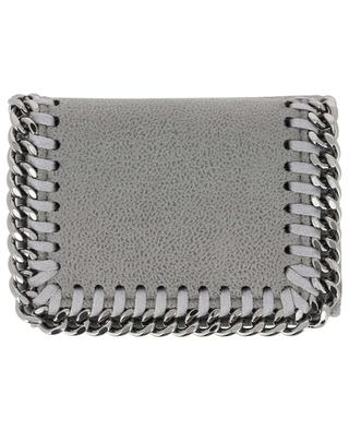 Falabella Shaggy Deer compact faux suede wallet STELLA MCCARTNEY